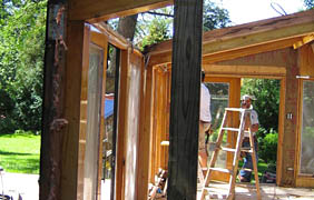 restoring sunroom